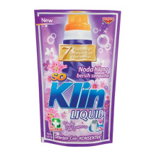 SO KLIN Liquid Detergent Violet Pouch 1600ml
