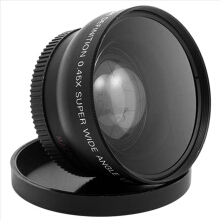 52MM 0.45 x Wide Angle Macro Lens for Nikon D3200 D3100 D5200 D5100
