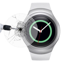 Thin Tempered Glass Screen Protector Film for Samsung Galaxy Gear S2 0.2mm