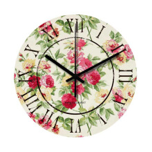 NAIL YOUR ART Rose Wall Clock/30x30Cm