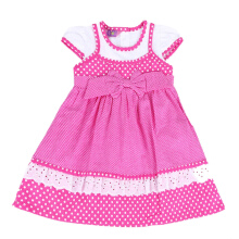 4 YOU Polkadot Ribbon Dress