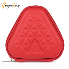 Guapabien EVA Triangle Shape Hard Shell Fidget Spinner Bag