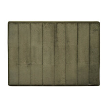 Microdry Memory Foam Bath Mat 43 X 61 cm - D.Green (Small) By Terry Palmer