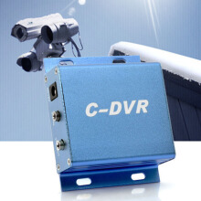 Blue Mini C-DVR Video/Audio Motion Detection TF Card Recorder For IP Camera