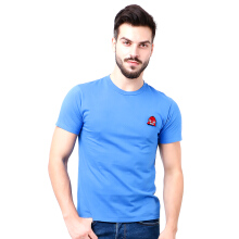 MONSTURO Blue Tshirt for Men + Patch