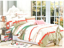 GRAPHIX Bed Cover Set Queen - Laurel / 160 x 200cm