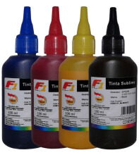 F1 Ink For Epson Sublime - 1 Set 4 Warna CMYK