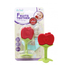 ANGE Apple Teether With Case + Clip