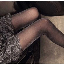 summer sexy  fashion slimming thin pantyshose  pearized silve modified legs silk stocking