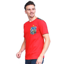 ALINSKIE BROTHERS Classic Mens T-Shirt Azura  A1022 - Red