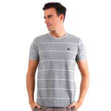 FAMO Line Casual Basic Tee - Grey