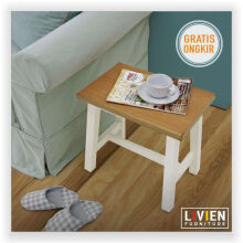(2 PCS) Kursi Bangku Kotak Maple Story - LIVIEN FURNITURE