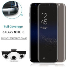 BESSKY Privacy Tempered Glass Protector Full Coverage Film For Samsung Galaxy Note 8_ Black