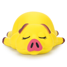 Squishy PU Slow Rising Simulate Lying Pig Toy Decoration