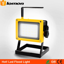 Lomon 30W Outdoor LED Rechargeable Floodlight LED Portable Light High Power Emergency Tent Camping Light Magnetica Work Handle Light