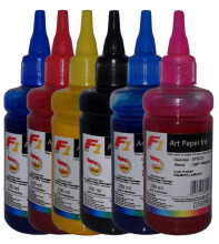 F1 Ink For Epson Artpaper 1 Set - 6 Warna CMYK LCLM