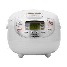 ZOJIRUSHI Rice Cooker NS-ZAQ10 WZ - White