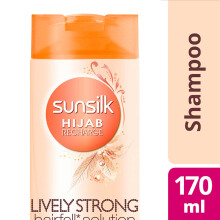 SUNSILK Hijab Recharge Shampoo Lively Strong Anti Hairfall 170ml