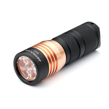 JDWonderfulHouse Astrolux S41 4x Nichia 219B/XP-G3 A6 1600Lumens Mini LED Flashlight