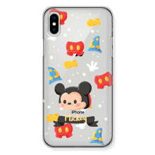 CASETOMIZE Classic Hard Case for Apple iPhone X - Chubby Mickey Tsum