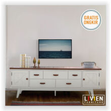 Lemari Meja Rak TV Milano Series - LIVIEN FURNITURE