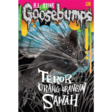 Goosebumps: Teror Orang-Orangan Sawah (The Scarecrow Walks At Midnight) - R.L Stine 9786020317083