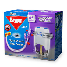 BAYGON Liquid Electric Dual Power + Refill 33ml