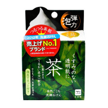 COW STYLE Shizengokochi Green Tea Facial Soap 80 gr