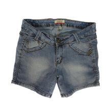 Mobile Power Ladies G5521 Short Pants Jeans - Blue Grey G5521