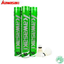 Kawasaki Training10 Genuine Durable Duck Feather Badminton Shuttlecock