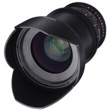 Samyang For Sony NEX / Alpha 35mm T1.5 VDSLR II Black