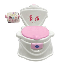 (DNU) BABY SAFE Musical Flush Potty - Pink