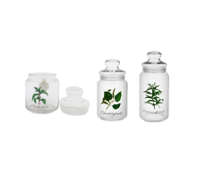 LUMINARC Rondo Jar Set of 3 Mentha / Tilia / Verbana - 0.5L / 0.75L / 1L