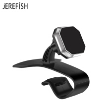 Car JEREFISH Phone Holder Magnetic Dashboard Edge Car Phone Mount with Super Strong Magnet and Adjustable Ball-Head Design Silver