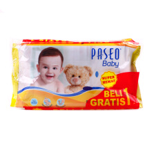 PASEO Baby Wipes 50's (buy1 get1)