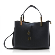 NEW COLLECTION Ladylike hand tote  - Black