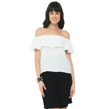 LOOKBOUTIQUESTORE Daisy Top - White