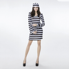Cosplay Costumes Party Costume Prisoner Career Costumes Festival/Holiday Halloween Costumes