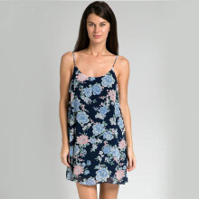 INDEFINI Arumi Flower Print - Blue
