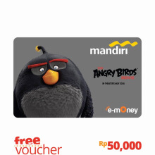 MANDIRI e-Money Card - The Angry Birds Movie