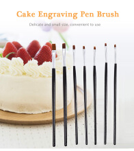 7pcs Cake Engraving Pen Brushes Fondant Decorating Baking Tools