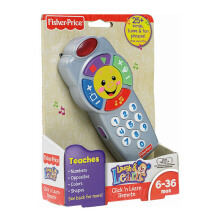 FISHER PRICE Laugh & Learn Click 'n Learn Remote 6W9739