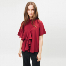 Bel.Corpo Kate Top - Maroon