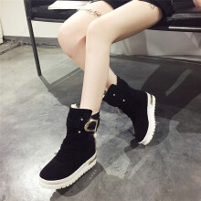 BESSKY Women's Casual Tassel Shoes Snow Ankle Boots Winter Keep Warm Boots Slip_