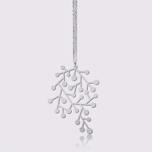 MOORIGIN - Snow Days Pendant - SIlver (Size S)