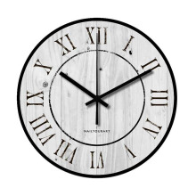 NAIL YOUR ART Palewood Wall Clock/30x30Cm