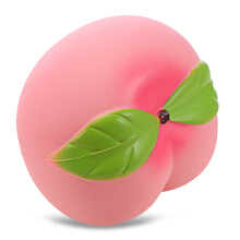 Squishy PU Sponge Slow Rising Simulate Peach Squeeze Toy
