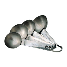 TANICA Sendok Takar Set 4 Pieces - Stainless Steel