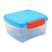 TECHNOPLAST Bellagio Lunch Box Square Large Biru