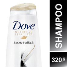 DOVE Shampoo Nourishing Black 320ml